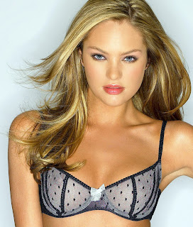 We love Candice Swanepoel lingerie pics