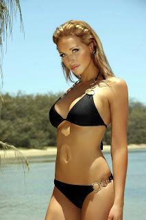 Emily Scott looks fantastic in a bikini