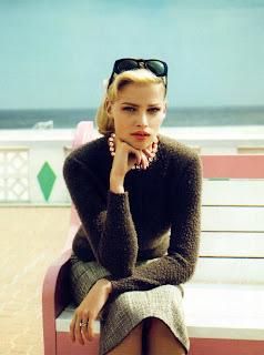 Lara Stone in Vogue