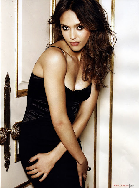 Jessica Alba is looking hot in FHM