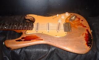 Van de Haar Aged Guitar