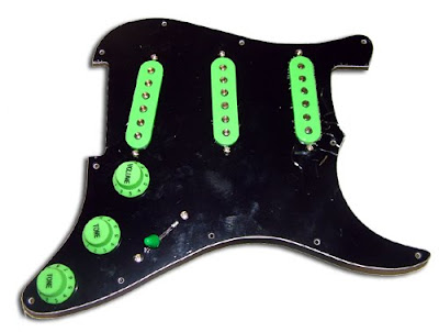 Color loaded pickguards