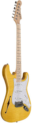 G&L Legacy Semi-hollow Vintage Yellow at Guitar Adoptions