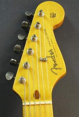 Fender 57 RI Strat Headstock