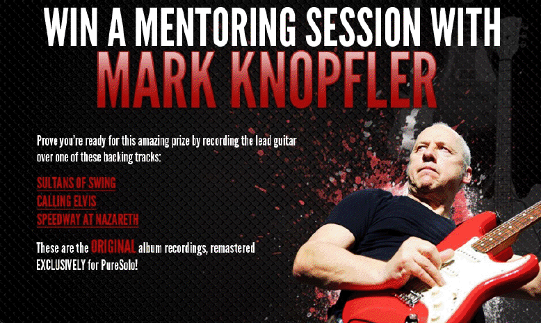 Win Personal Mentoring Session With Mark Knopfler