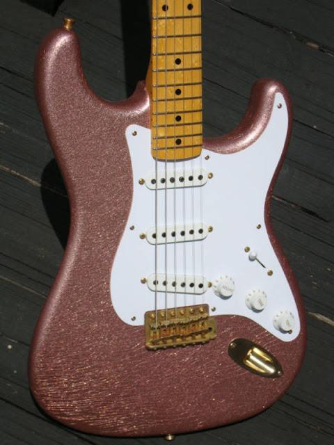 Champagne Sparkle Stratocaster