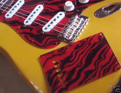 SRV tiger pickguard