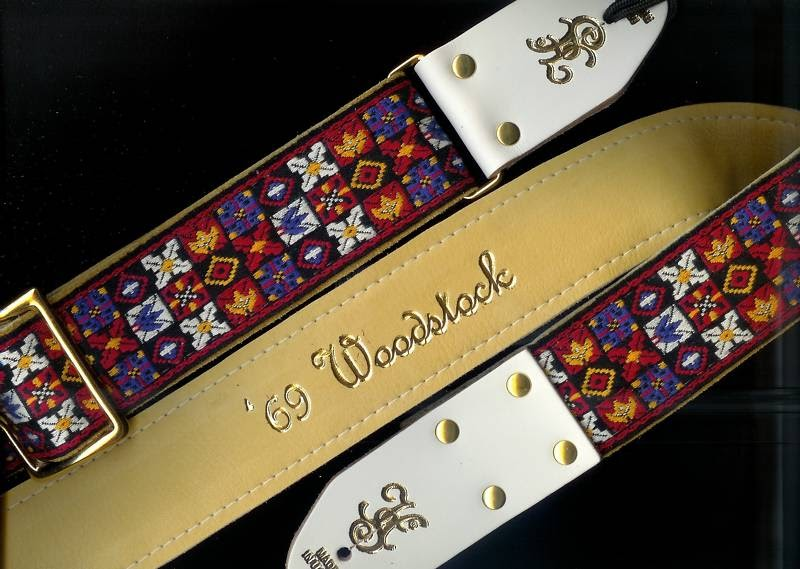 Vintage Style Guitar Straps