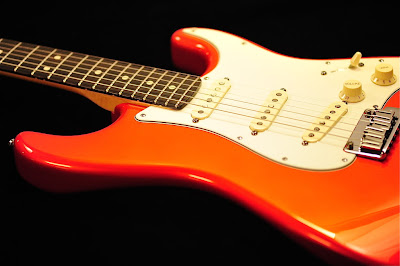 Fender Candy Tangerine Finish Strat