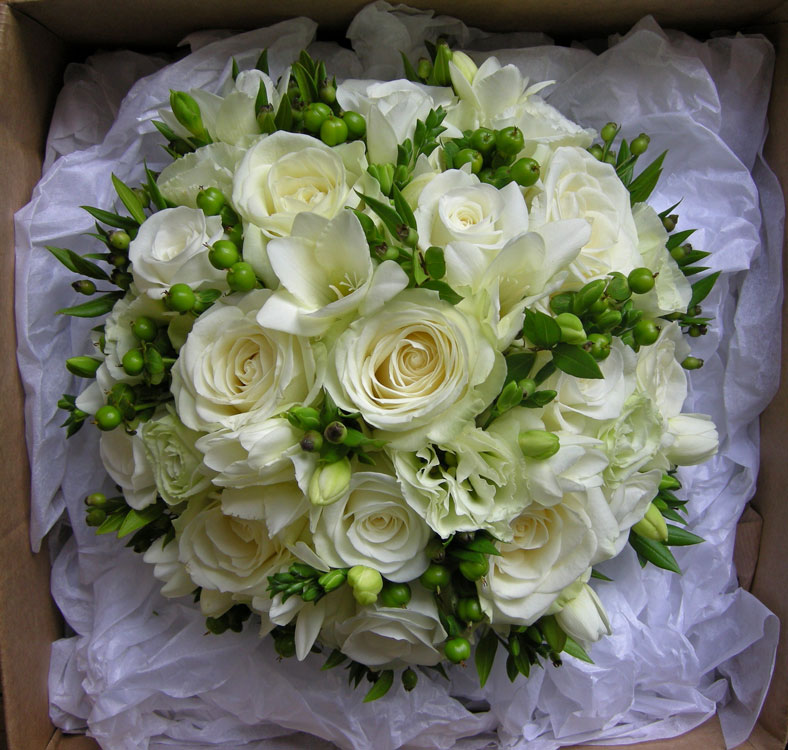 Wedding Flowers White Green : Wedding flowers wendy s autumn