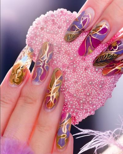 colorful-nailart