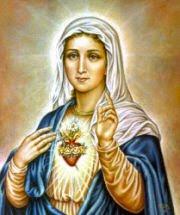COV ZAJ NYEEM NIAJ HNUB HAUV NRUAB LIS PIAM  2014-15 - Page 7 Immaculate+heart+of+mary
