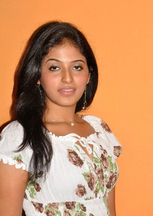 anjali anjali new white dress photo gallery