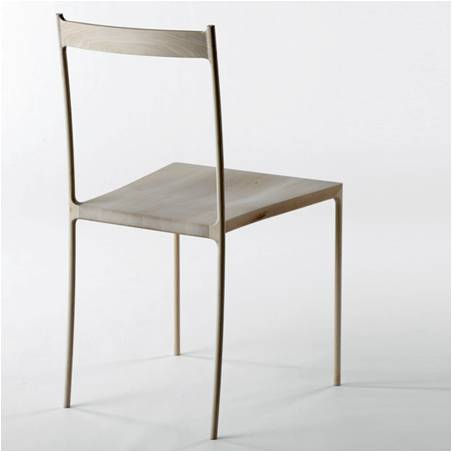 Furniture Thoughts: Japanese Chair - Wood and steel skeleton