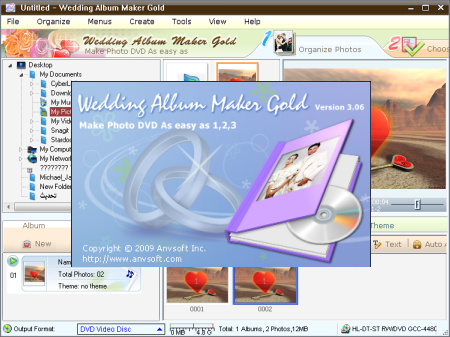 Wedding Album Maker Gold 3.52 (ENG) - Portable