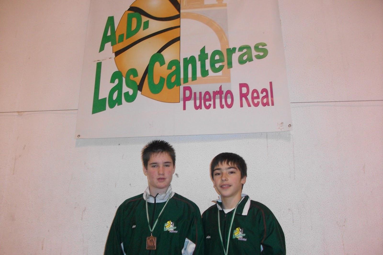 A d las canteras manuel y pablo terceros en el campeonato de andalucia selecciones minibasket - Las canteras puerto real ...
