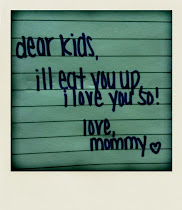 letters to my one day rockstar babies <3