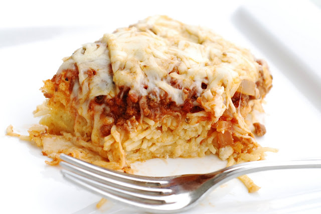 See Jane In The Kitchen Spaghetti Pie