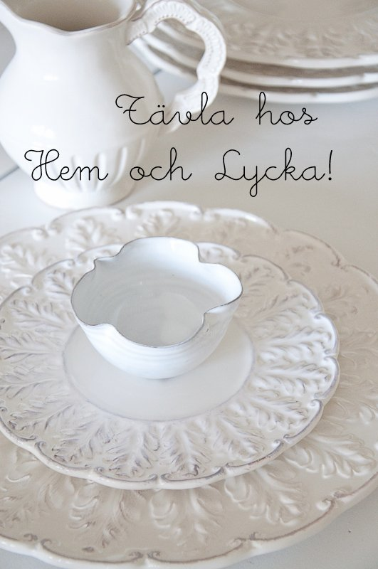 GiveAway hos Hem og Lycka