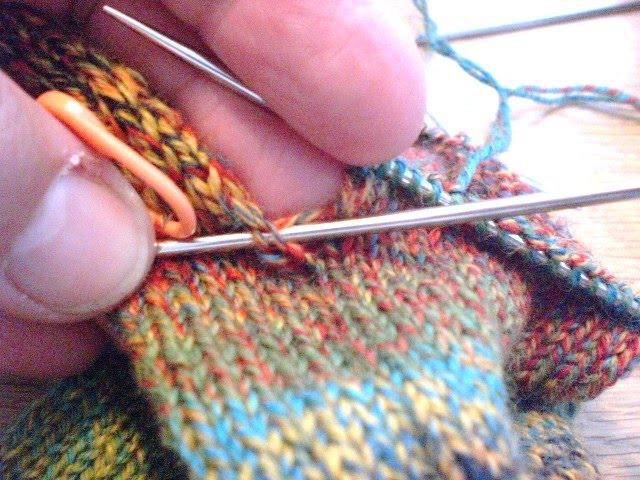 Fionas Knitting The Sock Trick