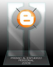  Premio Al Esfuerzo Personal 2009...