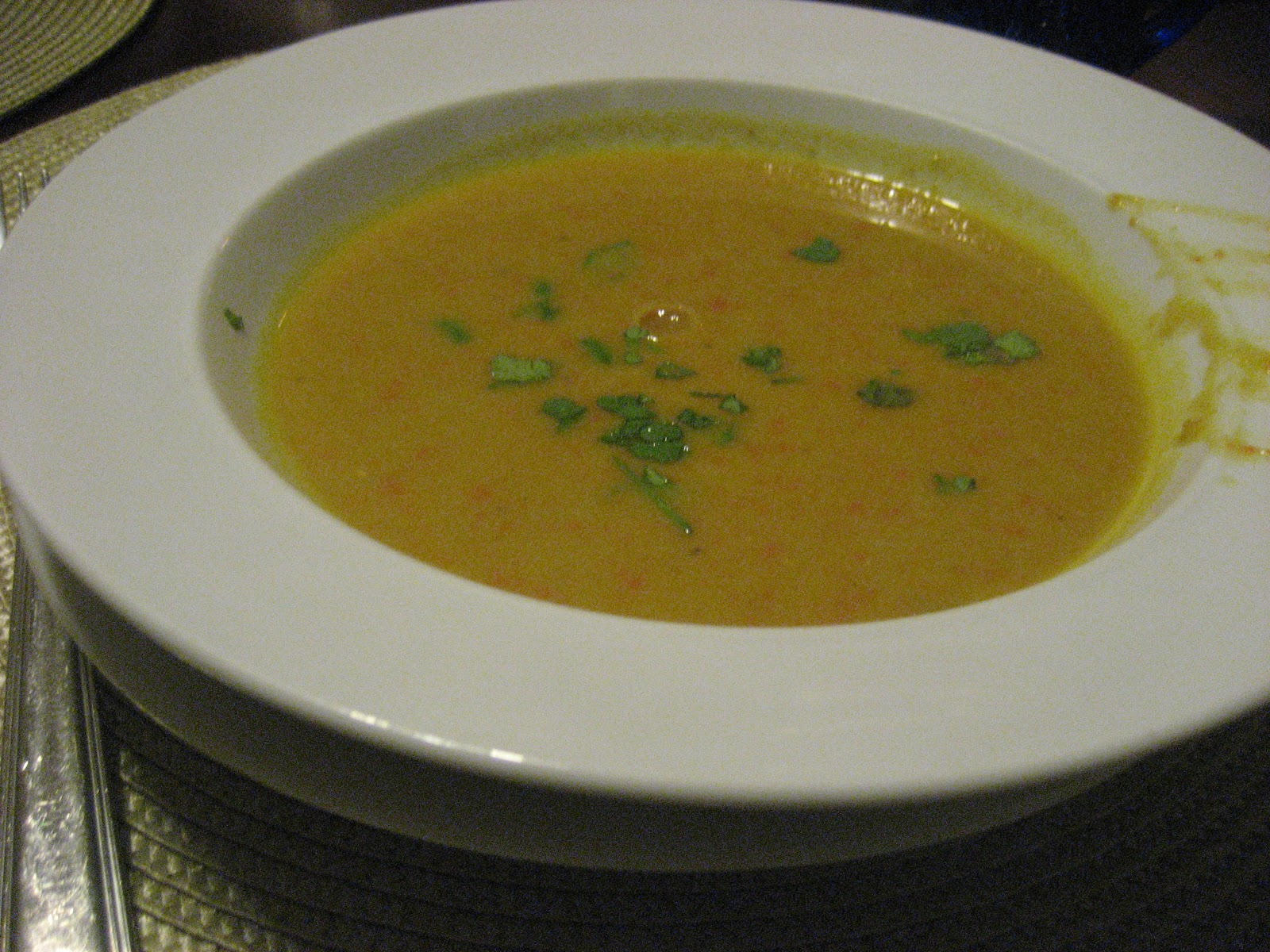 Recipes from Ima: Red Lentil Curry Soup w Coconut Milk