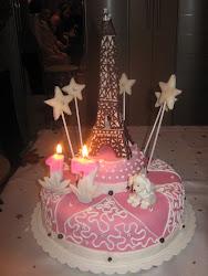 Tortul aniversar al fiicei mele( Decembrie 2010)