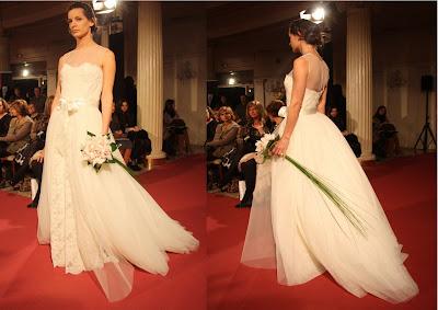 Desfile de novias en el Hotel Carlton de Bilbao