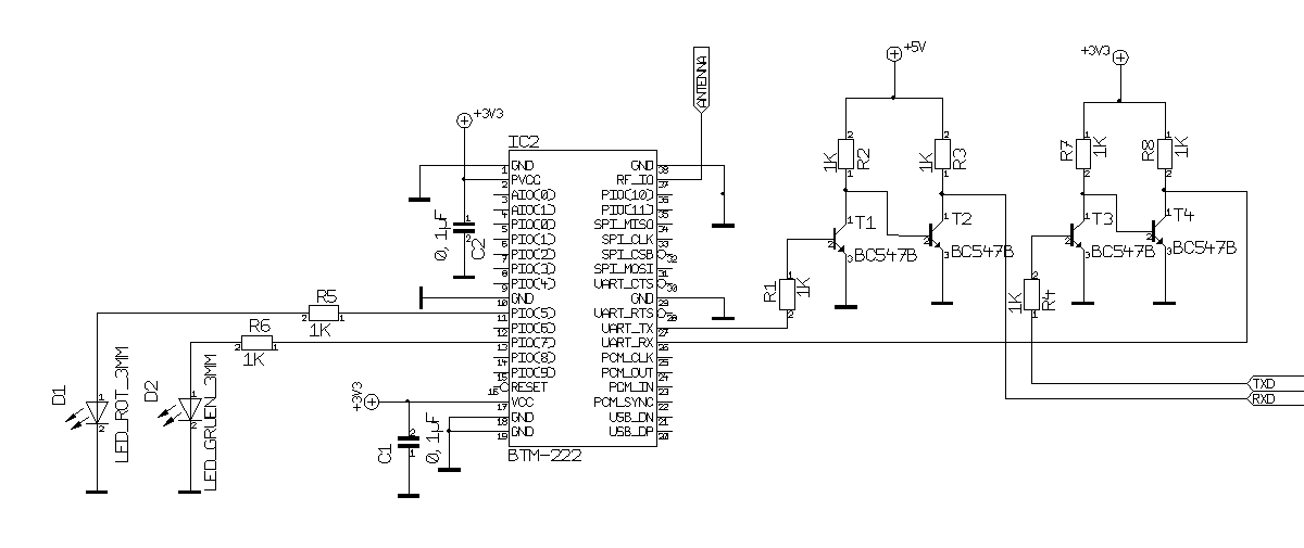 Схема блютуз приёмника