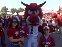 My Mom, Gage, Big Red & Me