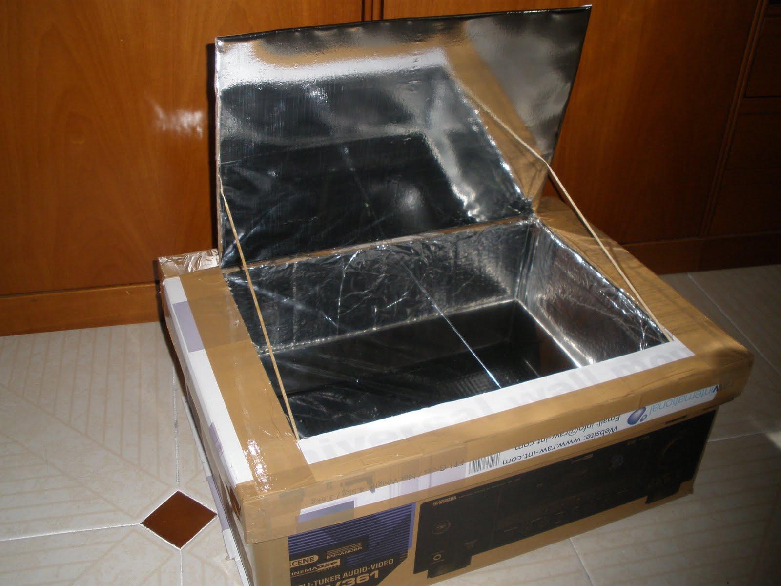 El poder de la naturaleza especificaciones del horno for Planos para construir una cocina solar
