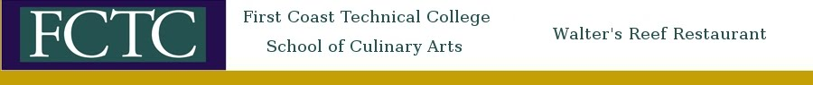 First Coast Technical College  School of Culinary Arts