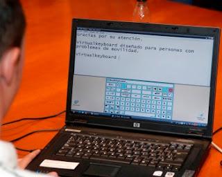 Virtual KeyBoard 1.0: La UdL desarrolla un teclado virtual para personas con discapacidad