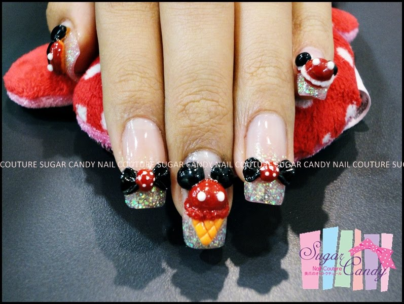 SUGAR CANDY NAIL COUTURE: Mickey's confectionery