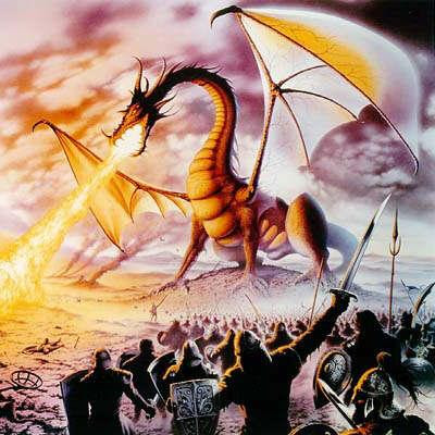 Medieval Dragon Tattoos