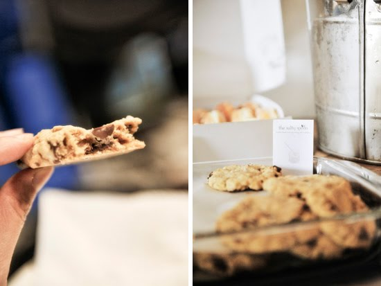 Behold the beauty of chocolate chip cookies by The Salty Spoon!