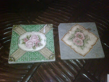 vintage british tiles...own collection