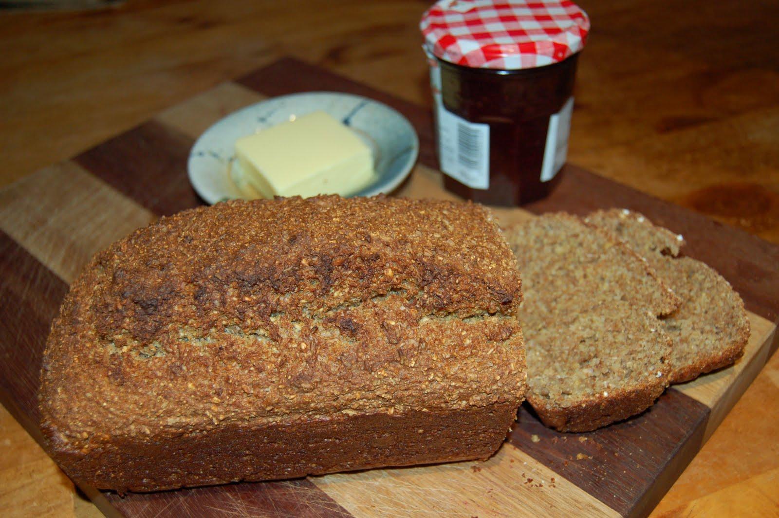 Mum's Homemade Brown Bread
