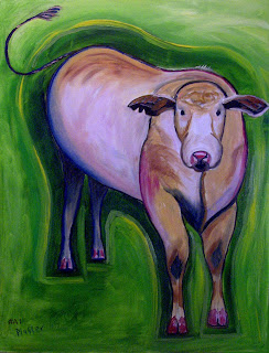 Whimsical Artist Scott Plaster's Cosmic Cow