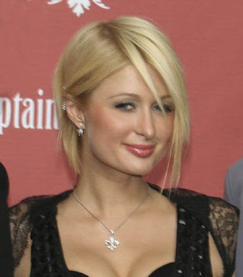 Paris Hilton naked. No, not really, but she is a vacuous socialite