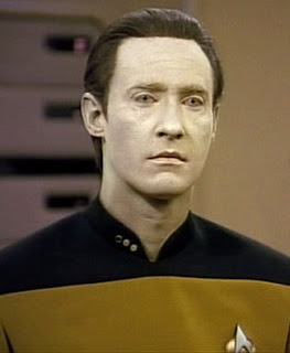 Star Trek Data the android