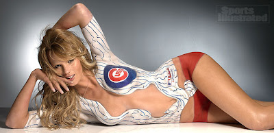 Sports Illustrated Body Paint