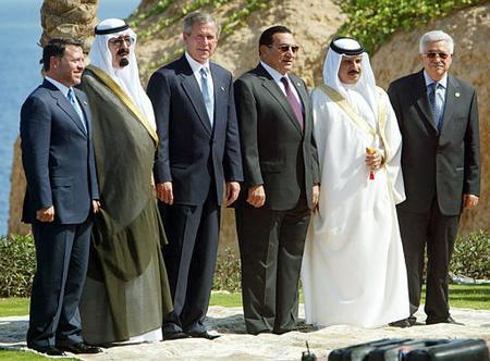 Osama Bin Laden And George Bush Friends