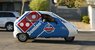 Domino's Pizza ZAP Electric Car