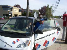 Domino's Pizza Smart Car