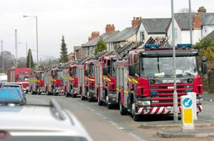 St Helens Fire Engines