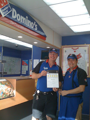 St Helens Scores On the Doors Domino's Pizza