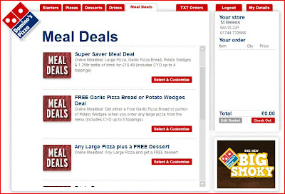 Domino's Pizza Meal Deals