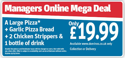 Domino's Pizza Meal Deal