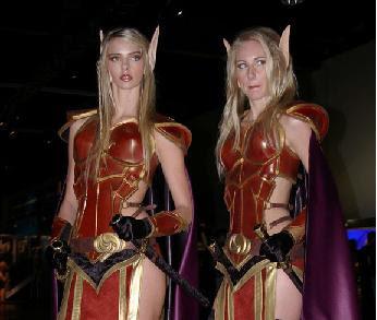 bellas elfas guerreras